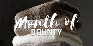 Month of bounty blankets